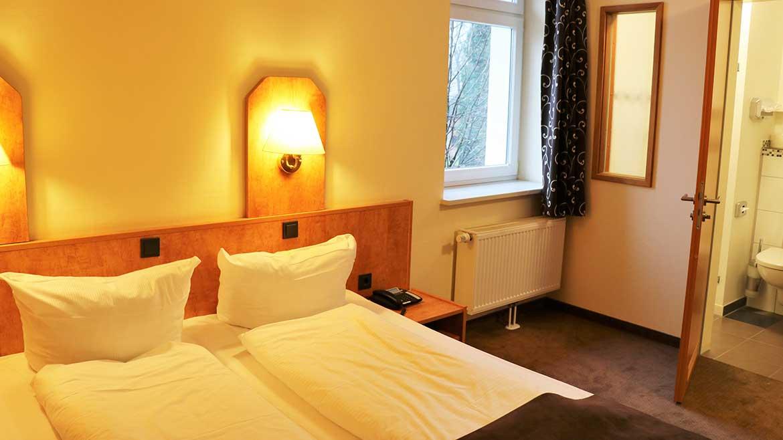 Doppelzimmer Hotel Frederikspark
