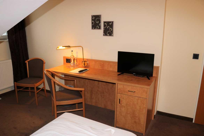 Einzelzimmer im Hotel Frederikspark in Norderstedt